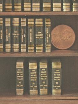 5 book set #205 Miniature Victorian Mystery Set 3